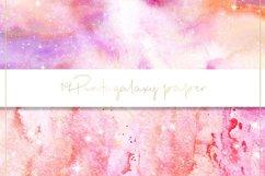 Galaxy watercolor digital paper Product Image 2
