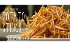 Potato Sticks Handwritten Skinny Font Product Image 1