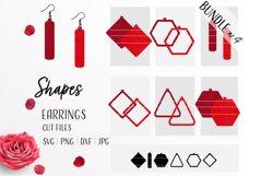 Earrings Bundle Svg / Leather / Faux / Wood / Cut Product Image 1
