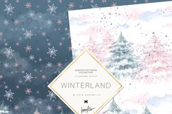 Winter Fairies Patterns Product Image 2