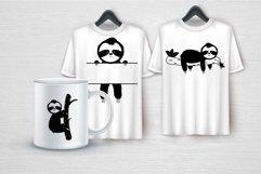 Cute Sloth SVG Bundle Product Image 2