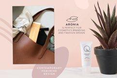 Aronia - Thin Line Logo Font Product Image 5