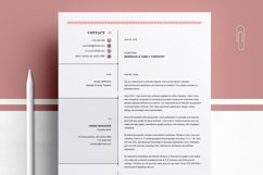 Modern Resume Template Product Image 3