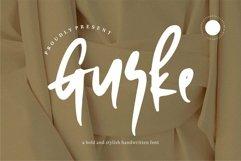 Web Font Gurke - Bold & Stylish Handwritten Font Product Image 1