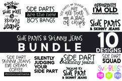 Side Parts & Skinny Jeans SVG Bundle | Millennial Designs Product Image 1