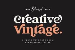 Creative Vintage Serif & Script fonts Product Image 1