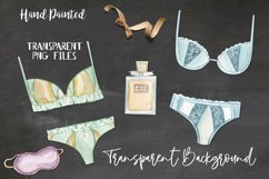 Lingerie Watercolor 13 Elements Perfume Panties Bras Lace Product Image 4