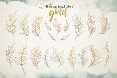 Watercolor & Gold Leaf Branch Product Image 11