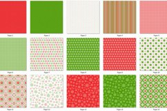 Red and Green Collection Papers 1 Product Image 2