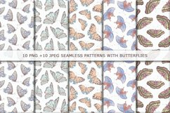 Watercolor butterflies 2 Product Image 3