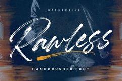 Rawless Natural Handbrushed Font Product Image 1