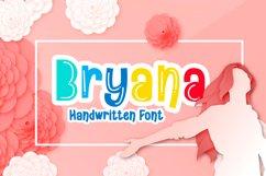 Bryana | Handwritten Font Product Image 1