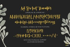 Air Time - A Fun Handwritten Font. Product Image 4