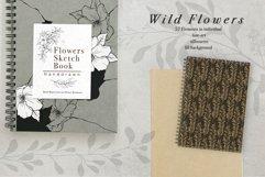 WILD FLOWERS Illustration Botanical Product Image 12