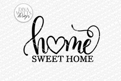 Home Sweet Home SVG | Farmhouse Sign | DXF and More Product Image 2