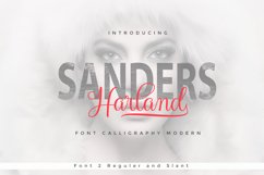 Harland Script Product Image 1