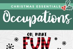 Christmas Nurse Practitioner svg - np svg - oh what fun Product Image 5