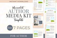 Minimalist Author Media Kit   Media Kit Template Product Image 1