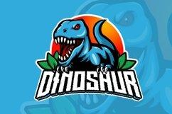 Dinosaur mascot logo design Product Image 2
