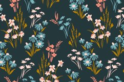 9 floral abstract seamless patterns. Product Image 4