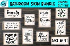 Bathroom Sign Bundle Product Image 1