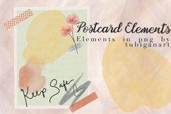 Keep Safe Postcard Elements Product Image 1
