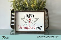 Happy Valentines Day SVG Cut File Product Image 2