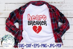 Heart Breaker | Valentine's Day SVG Product Image 1