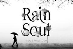 Rain Soul. SVG Font. Product Image 1