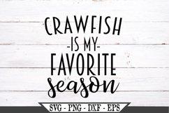 Crawfish Is My Favorite Season SVG Product Image 2