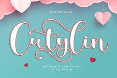 Cutylin - Beauty Script Fonts Product Image 1