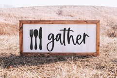 Country Kitchen - A Script Font with Farmhouse Doodles Product Image 2