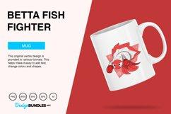 Betta Fish Fighter Vector Illustration Product Image 3