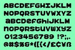 Benji - a bold, fun monospace font! Product Image 3