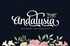 Andalusia Script Product Image 1