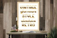 Golden palace - metallic font Product Image 4