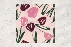 Tulip seamless pattern Product Image 2
