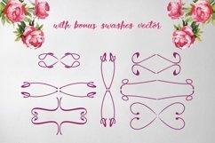 Web Font Rose Wine Typeface Product Image 4