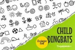 Web Font Child Dingbats Product Image 1