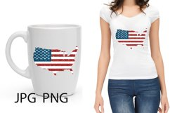 Sublimation, American Map Product Image 1