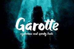 Garotte    scary graffiti font Product Image 1