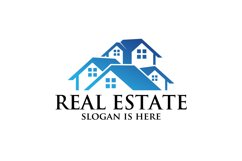 Real estate vector logo ,residential building property Product Image 1