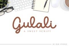 Gulali - a sweet script Product Image 1