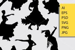 Flamenco dance silhouette Product Image 2