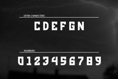 Red Storm | Special Designer Font Product Image 3