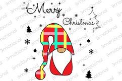 Noel Xmas SVG, Gnome, Merry Christmas, Kids Funny Christmas Product Image 2