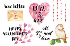 Watercolor Spring&Love Set Product Image 4