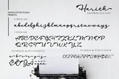 Harith Script Font Product Image 2