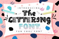 The Lettering Font Product Image 1