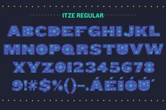 Itze Font Product Image 4